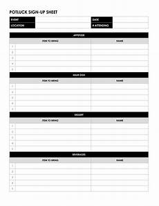 Club Sign Up Sheet Template Word 26 Free Sign Up Sheet Templates Excel Word How To Make