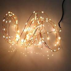 Wire Christmas Tree With Led Lights Copper Wire Holiday Light 10m 100 Led Energy String Fairy