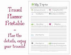 Trip Planned Vacation Travel Planner Printable Pdf Sheets My Trip To