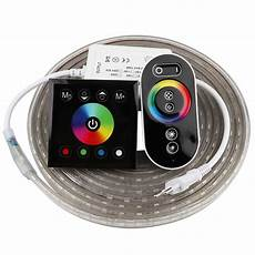 Touch Control Led Lights 2 Finger Touch Remote Control Rgb Led 220v 220 V