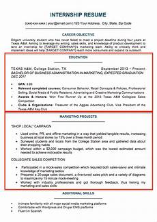 Resumes For Graduating College Students College Student Resume Sample Amp Writing Tips Resume