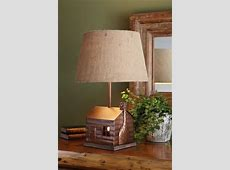 Cabin Lamp with Lampshade Park Designs