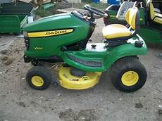 deere x300 lawn garden and commercial mowing