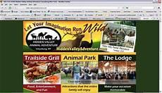 Adventure Web Design Hidden Valley Animal Adventure Adventure Web Design