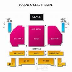 Seating Chart Eugene O Neill Theatre Eugene O Neill Theatre A Seating Guide For The Broadway