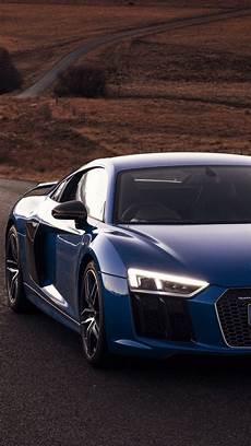 audi wallpaper iphone 7 plus 1080x1920 audi r8 v10 blue road desert