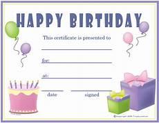 Free Printable Birthday Certificates Free Birthday Girl Certificates Certificate Free