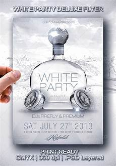 Free All White Party Flyer Template White Party Deluxe Flyer By Larajtwyss Graphicriver