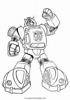 Bilder Zum Ausmalen Transformers Bumblebee 2 Gratis Malvorlage In Comic Trickfilmfiguren