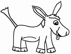 Malvorlage Esel Einfach Lustiger Esel Malvorlage Und Zeichenvorlage