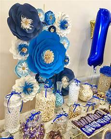 royal blue navy blue baby blue white and gold paper