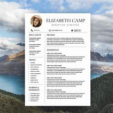 Free Headshot Template Resume Template With Headshot Photo Resume Templates