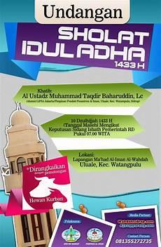 pamflet idul adha 1 wahdah islamiyah