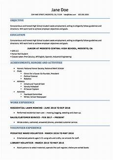 College Resume Builder For High School Students 40 Sample Resume College Student In 2020 With Images