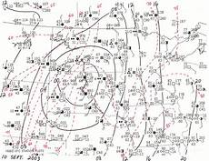 Surface Analysis Chart Depicts Meteorology Class Homepage