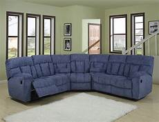 Blue Sectional Sofa 3d Image by Blue Or Beige Fabric Modern 5pc Reclining Sectional Sofa