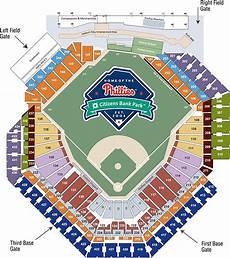 Saints Virtual Seating Chart Season Ticket Seating Chart Philadelphia Phillies