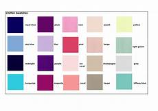 pretty dresses color chart the best and popular colours for your bridesmaid dresses