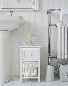 bar harbor narrow small white bathroom cabinet with 2