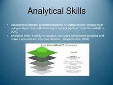 Definition Of Analytical Skills Skills Needed For A Career In Accounting