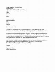 Notice Of Termination Of Contract 35 Perfect Termination Letter Samples Lease Employee