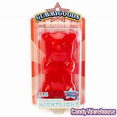 Red Gummy Bear Night Light Gummy Bear Night Light Red Candy Warehouse