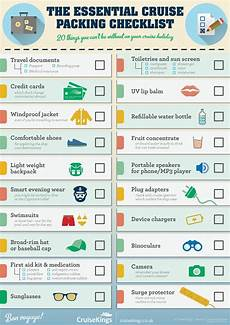 Packing List For Cruise The Essential Cruise Packing List Coolguides