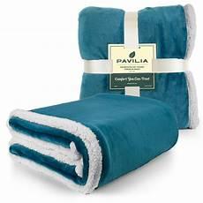 sherpa flannel fleece reversible blanket plush soft throw