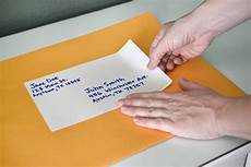How To Label An Envelope How To Address Large Envelopes Our Everyday Life