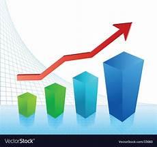 Profit Chart Business Profit Chart Royalty Free Vector Image