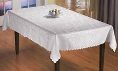plastic table clothes rectangular packers white rectangle table cloth tablecloth scrollwork design