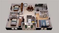 3d floor plan design map systems portfolio