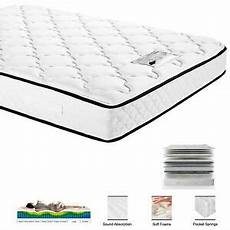 new comfort pocket sprung memory foam mattress quilted