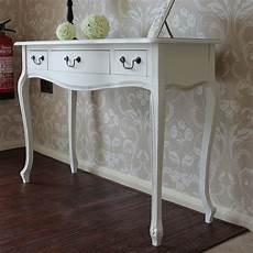 white 3 drawer console special order melody maison 174