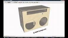Ram Designs Ram Designs Kicker Cvr 15 Quot Ported Box Design Youtube
