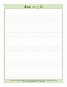 Easy Shopping List Template Free Printable Grocery List World Of Reference