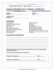 Template For Write Up On Employees Free 5 Restaurant Employee Write Up Forms In Pdf