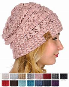 knit beanie metallic yarn knit cc beanie hat