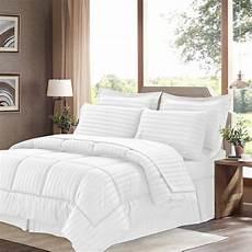 basic 8 alternative bed in a bag comforter set