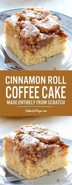 easy cinnamon roll coffee cake cakescottage easy cinnamon roll coffee cake cakescottage