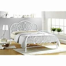4ft small white metal bed frame bedstead