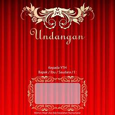 undangan nikah corel draw template undangan pernikahan cdr file gratis download