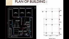 Analysis And Design Of Buildings Analysis And Design Of G 1 Building On Staad Pro Ppt Youtube