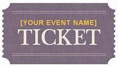 Admission Ticket Template Word Generic Event Ticket Templates Formal Word Templates