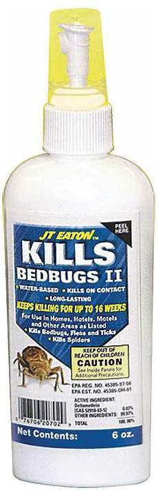 jt eaton bed bug ii insecticide killer spray