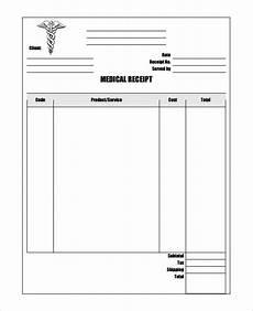 Medicine Bill Format In Word Free 11 Medical Bill Receipt Templates In Pdf Ms Word