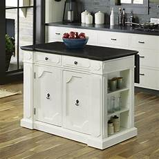 kitchen island lowes home styles white casual kitchen island at lowes