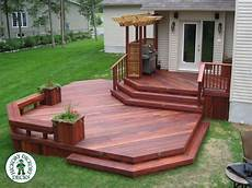 Two Level Deck Designs The 25 Best Two Level Deck Ideas On Pinterest
