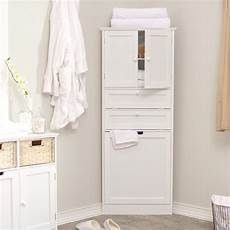 space efficient corner bathroom cabinet for your small