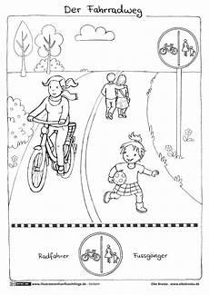 verkehr fahrrad fahrradweg broska road safety